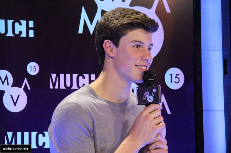 Shawn Mendes at the Much Music Awards 2015