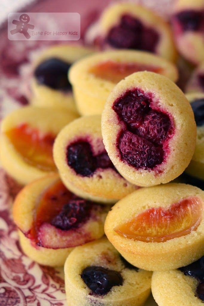 Summer Fruits Friands (Bill Granger)