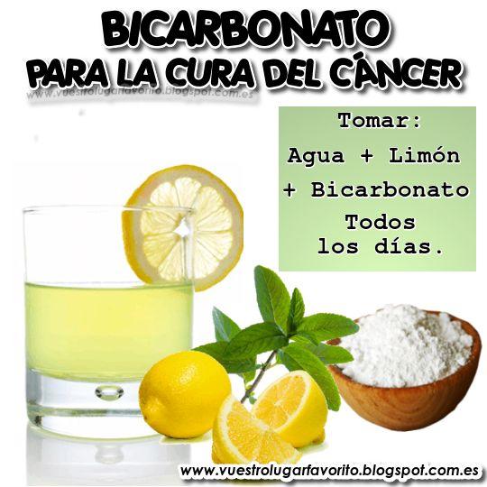 BICARBONATO PARA LA CURA DEL CÁNCER Hay cura contra el cáncer, es un secreto medico que no desean difundir. Los médicos no lo difunden porque es económico.