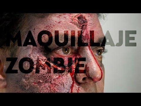 MAQUILLAJE ZOMBIE DIY. Heridas (Fácil) - YouTube