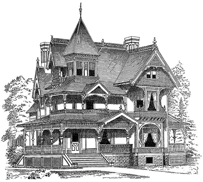 Victorian Houses CD ROM And Book Dover Publications