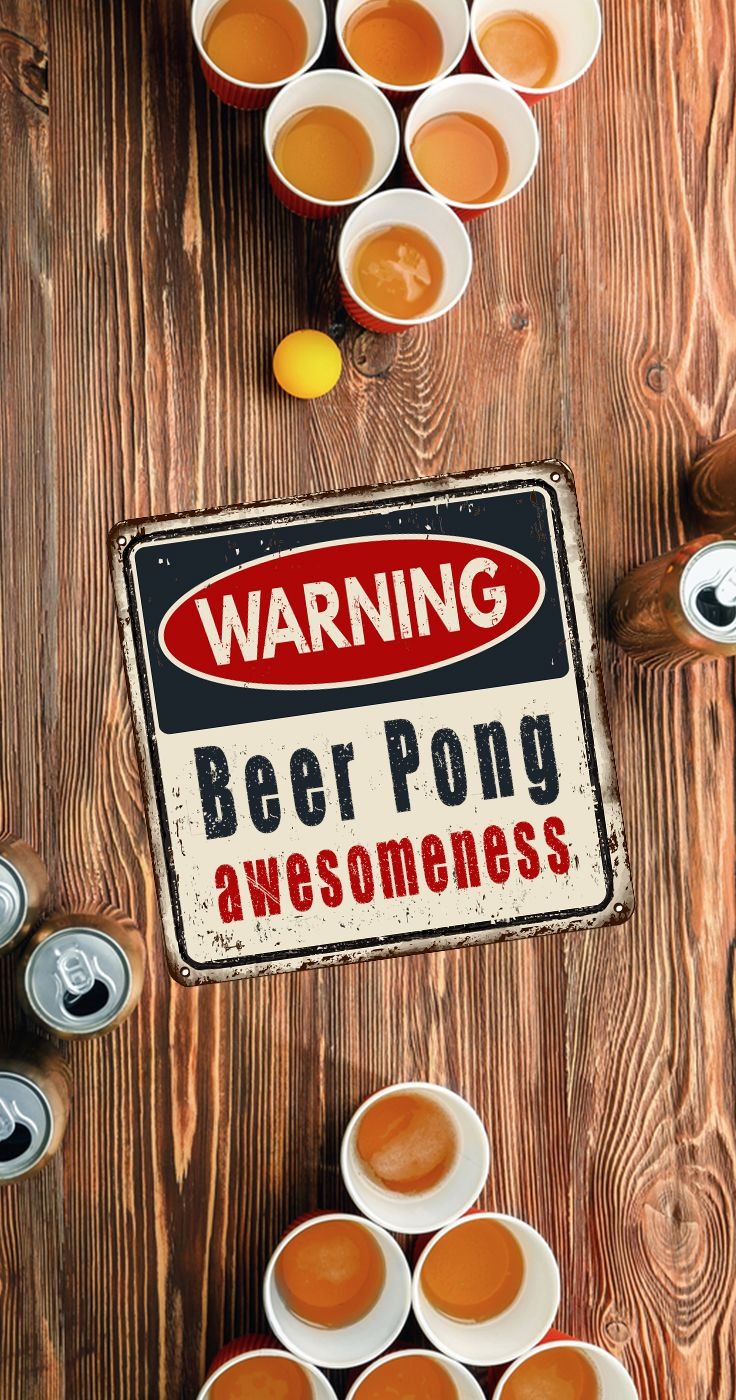 Warning: Beer Pong Awesomeness!  15+ epic different beer pong accessories and variations of beer pong you can play.  From tables, racks, setups, even floating beer pong.  Beer Pong is the most popular college drinking game!