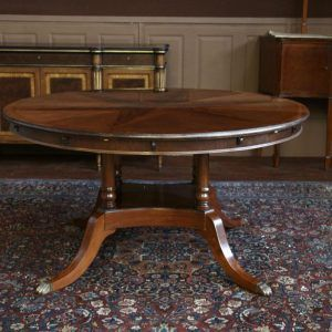 Antique dining room tables with leaves