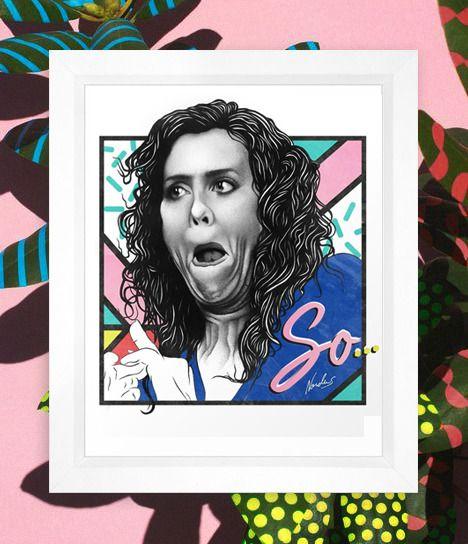 SNL Penelope - Kristen Wiig art piece by Nordacious