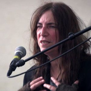 """""""To be an artist — actually, to be a human being in these times — it's all difficult. … What matters is to know what you want and pursue it.""""  Thank you to Patti Smith for #SharingSmarts! #womensday"""