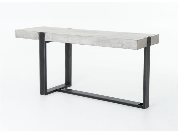 Rectangular Steel Console Table St Malo Collection By INTERNI EDITION |  Design Janine Vandebosch | Kitchen Room | Pinterest | Console Tables,  Consoles And ...