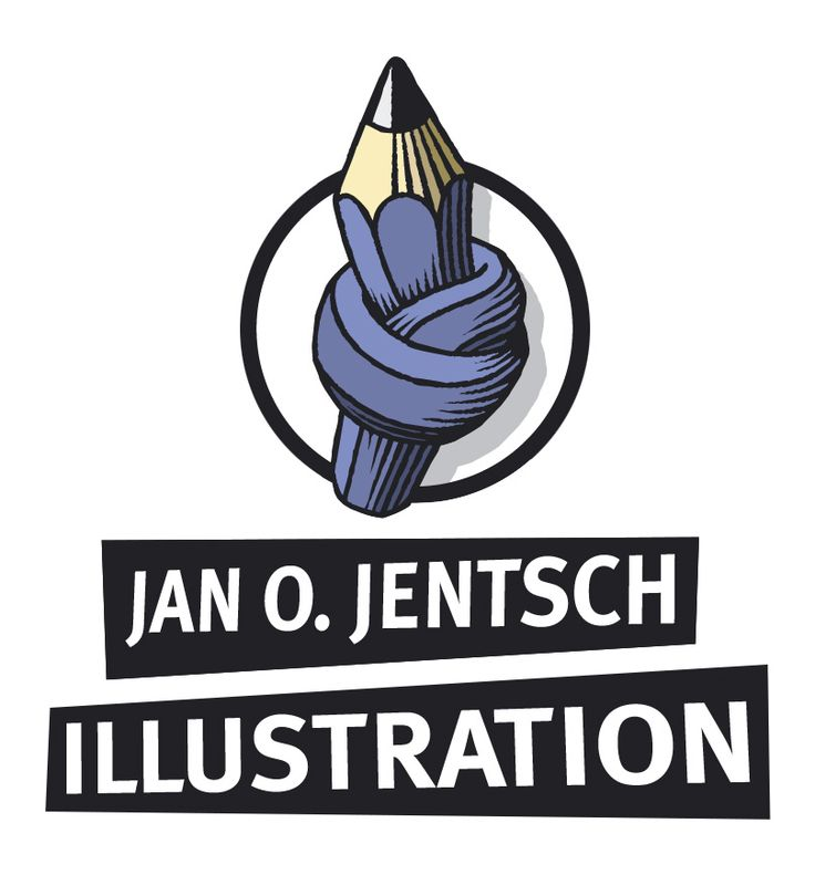 This is a logo for an illustrator's website.