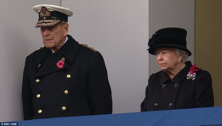 Prince Philip, who retired from official duties earlier this year, and the Queen were on a...
