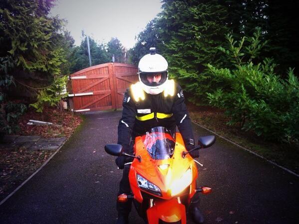 Custom LED Motorcycle jacket - TRON style