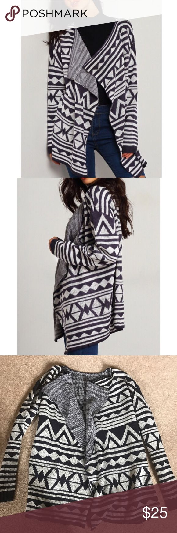 Tribal Cardigan Brand New! Francesca's Collections Sweaters Cardigans
