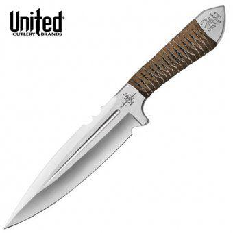 """3 vrhací nože Aircobra 9"""" s nylonovou pochvou od Kit Rae"""