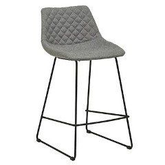 Great Bar stools for any kitchen or Bar Bench  Quilted back for added comfort, this barstool is so versatile in any space.