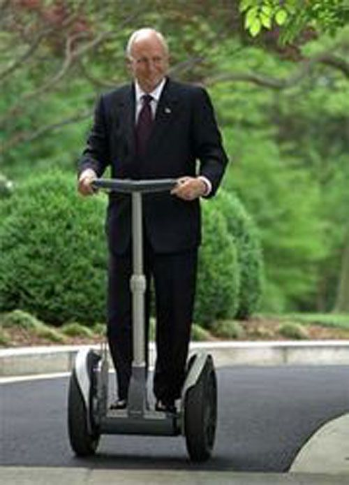 Jimi Heselden, owner of the Segway Motorized Scooter Company, died when he accidentally drove his Segway off a cliff.