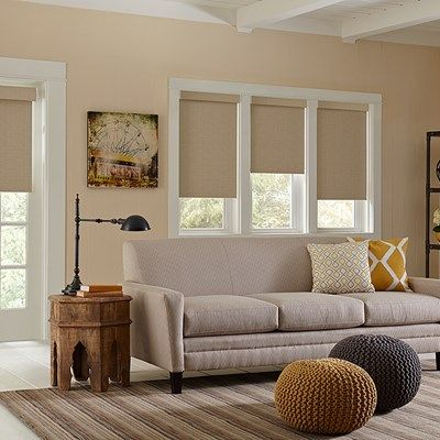Best 25 roller shades ideas on pinterest window roller for Exterior no chain window shade