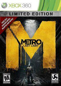 Metro Last Light: Limited Edition (Xbox360)