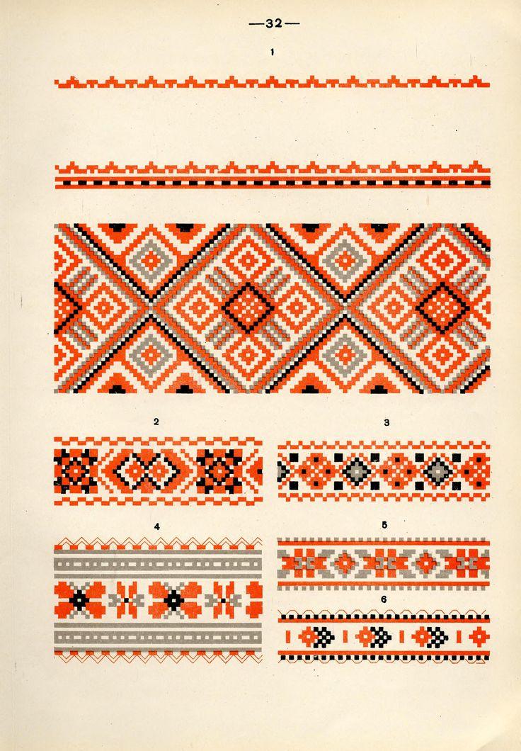 https://flic.kr/p/fQaBdg | Белорусский народный орнамент - 1953_122 | Belarusian ethnic embroidery