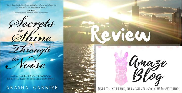 #ShineThroughtheNoise 🌟 Review w/ @Cassarica http://www.amazeblog.com/index.php/2016/09/27/secrets-shine-noise-book-review/ … #TuesdayBookBlog #TeamAkasha #TravelTuesday #Motivation