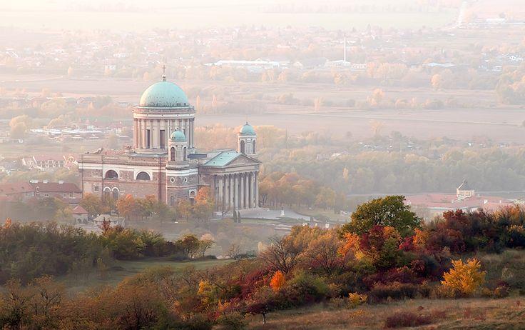 Esztergom - őszi délután