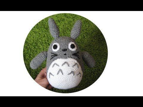 Amigurumi Totoro : Amigurumi totoro crochet pattern free crochet patterns