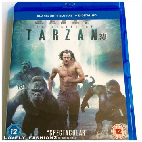 2016 #tarzan 3d #blu-ray disc only in box film #movie jane gorillas alexander,  View more on the LINK: 	http://www.zeppy.io/product/gb/2/132078675332/