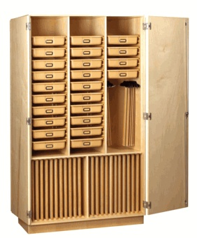 Artist's Storage Cabinet.... DROOL!!!