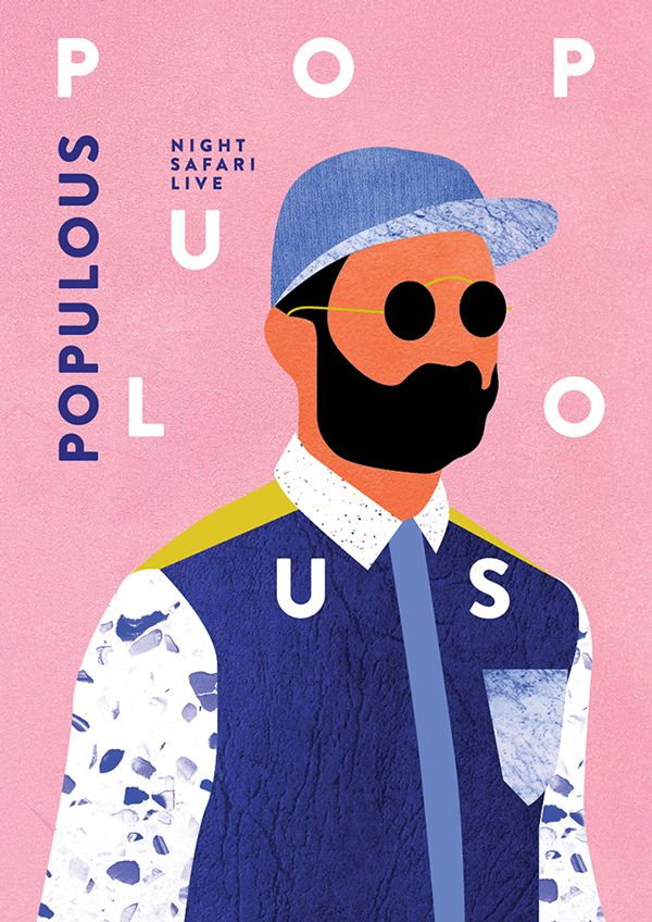 Populous - Night Safari on Behance
