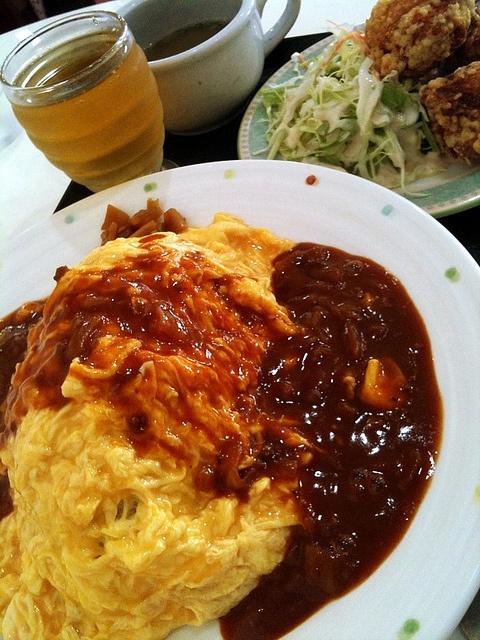 オムライス rice omlet