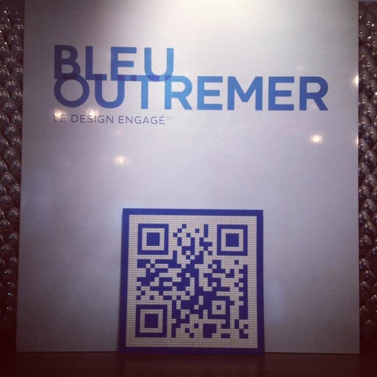 #bleuoutremer #qrcode #design #lego
