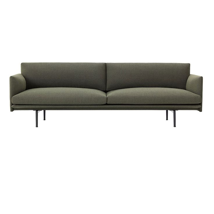 With The Outline Two Seater Sofa Muuto And Designers Anderssen U0026 Voll Aimed  To Create A Visually Light And Elegant Sofa With Lots Of Comfort.