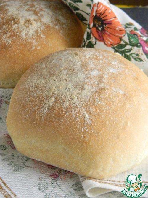 """Хлеб на манной крупе """"Колобок"""" - кулинарный рецепт"""