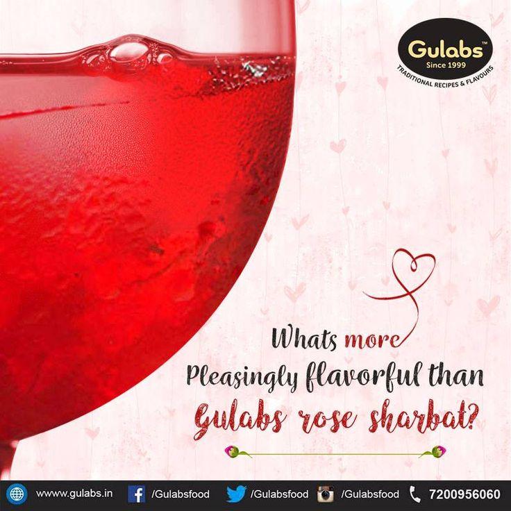 Pleasingly flavorful, refreshing thirst quencher - #Gulabs #RoseSharbat #Sharbat #SummerDrinks #drink