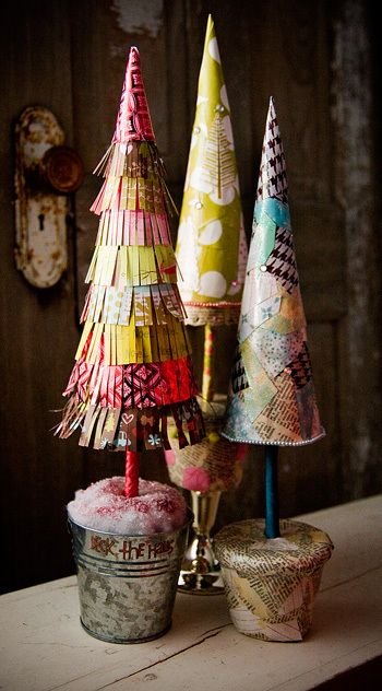 20 Handmade Christmas Trees