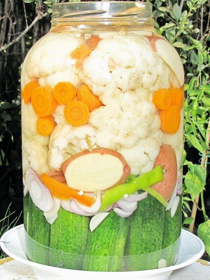 Kovászolt karfiol *