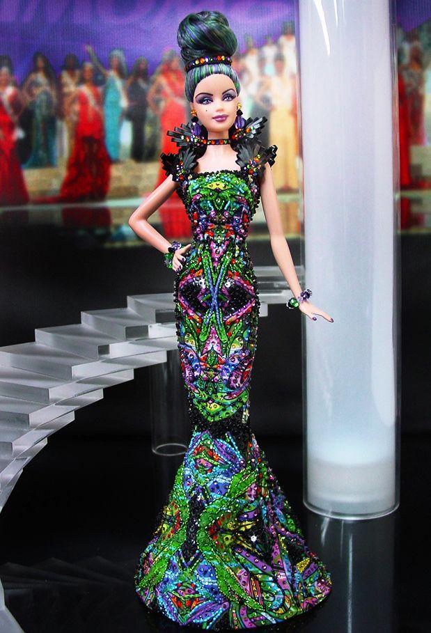 Miss China 2011 by Ninimomo Dolls | Barbie dress, Barbie