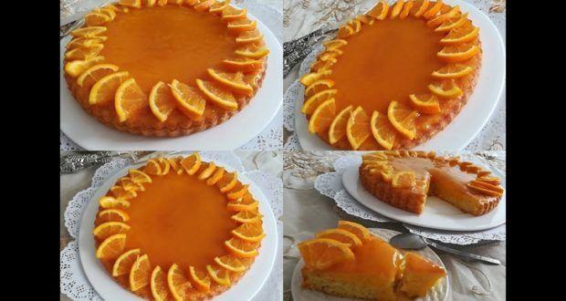 الكيكة لي متخطانيش بصلصة البرتقال اقتصادية و راقية للضيوف Food Desserts Pie