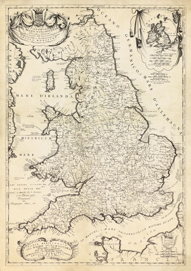 Large Map Of England And Wales.England Map Wales Map Historical Map Of England Large Wall