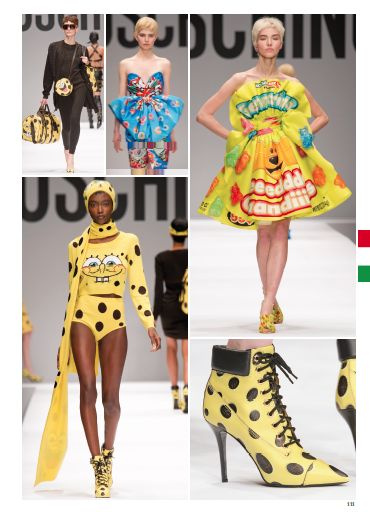 From Milan Fashion Show: MOSCHINO. #milan #catwalk #fashionshow #fashion #style #look #women #fall #winter #2014 #2015 #pretaporter #moschino @Moschino