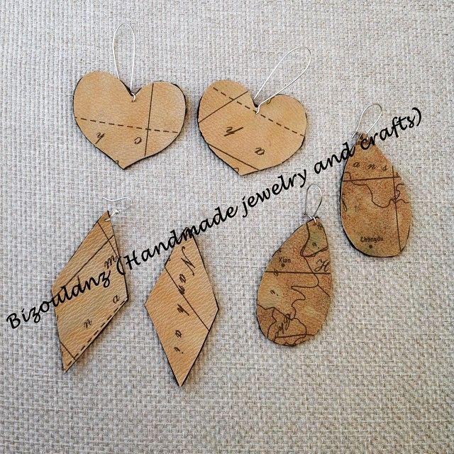 Earrings#dropearrings#heartearrings#diamondshape#recycled#upcycled#ecofriendly#reclaimed#Fauxleather#felt#brown#alvieromartinistyle#fashionable#bizoulanz#handmade#χειροποίητα#σκουλαρίκια#χειροποίητασκουλαρίκια#καφέ#καρδιά#ρόμβος#χάρτης#σταγόνα