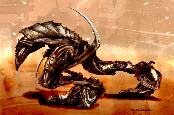 Mechanical Reaper concept
