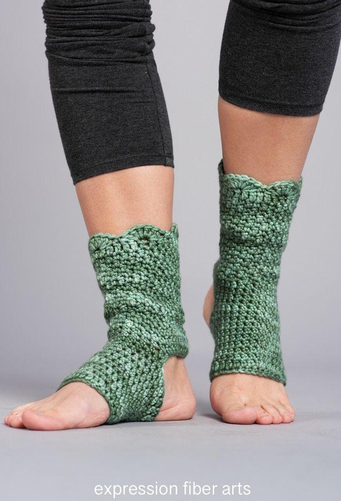 Shanti Crochet Patterns Crochet Yoga Socks Crochet Patterns