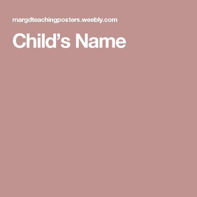 Child's Name