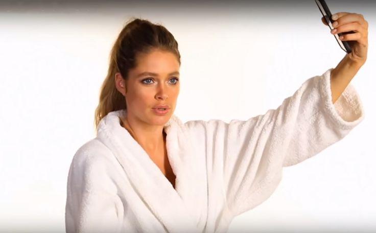 Selfie les van 9 supermodellen (inclusief onze Doutzen Kroes ) >>