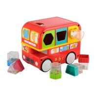 ELC Shape Sorting Bus - Interactive Toys - Toys | Baby Bunting