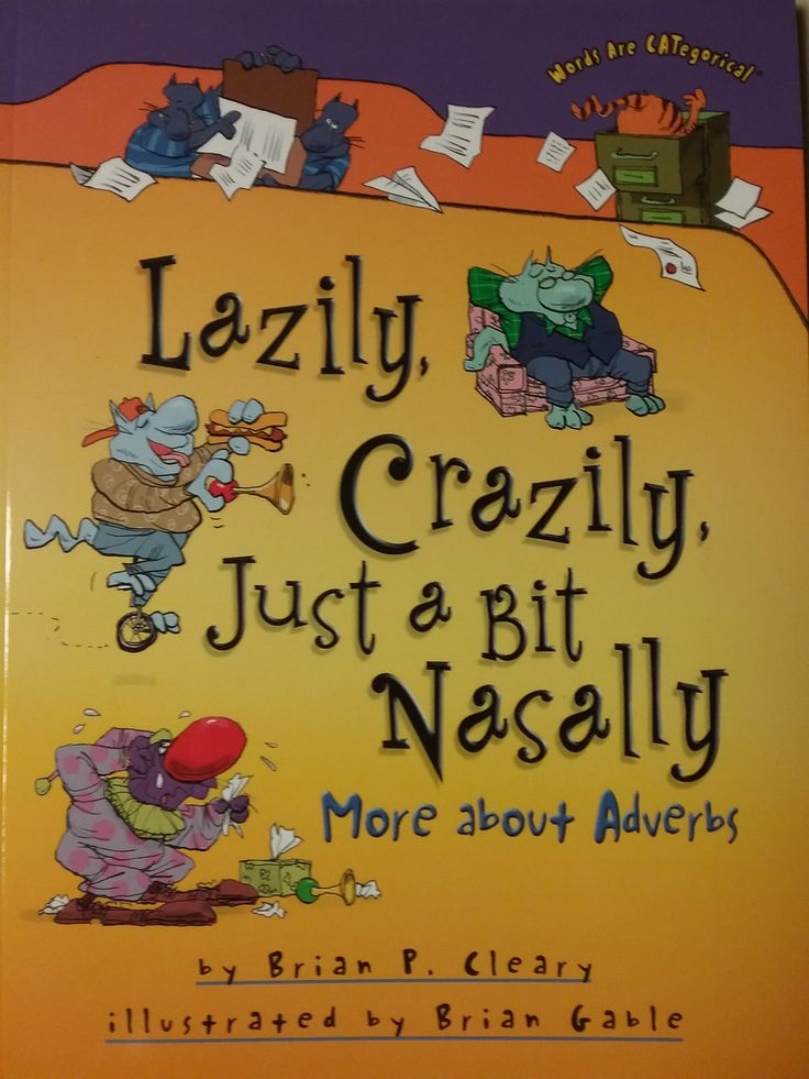 Children's Literature Who ever thought that a grammar book could be fun? This one teaches grammar and rhyming, too. But there's absolutely nothing didactic about it. Beginning readers might have to ex