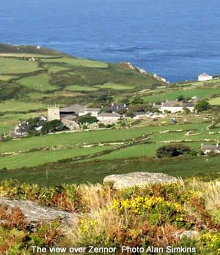 Zennor, Cornwall, UK - different view - a few ales been taken around these parts!