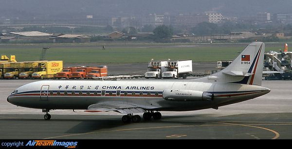 China Airlines (Taiwan) Sud SE-210 Caravelle III