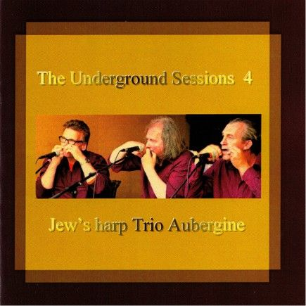 """Jew's Harp Trio Aubergine - The Underground Sessions IV - Winter (2008) The """"Jew's Harp Trio Aubergine"""" comes from the region Zeeland in the Netherlands. The subtitle of the fourth part of this quadrology is called Winter. #guimbarde #jewsharp #maultrommel #musique"""