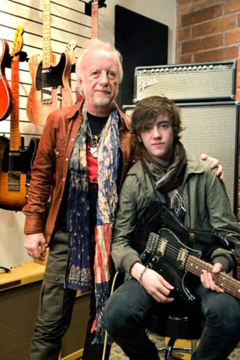Brad whitford and son