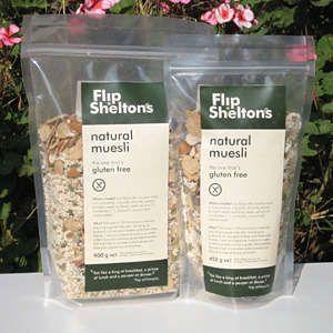 Flip Shelton's gluten free muesli - Endorsed by Coeliac Australia