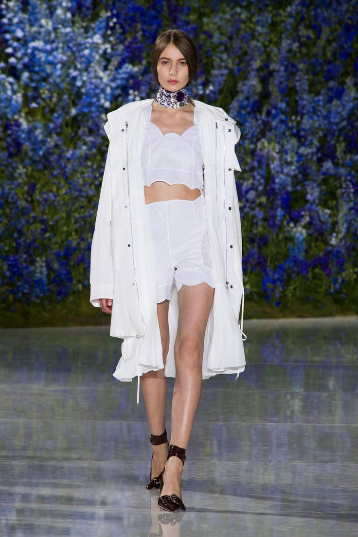 A look from Dior's spring 2016 collection. Photo: Imaxtree.